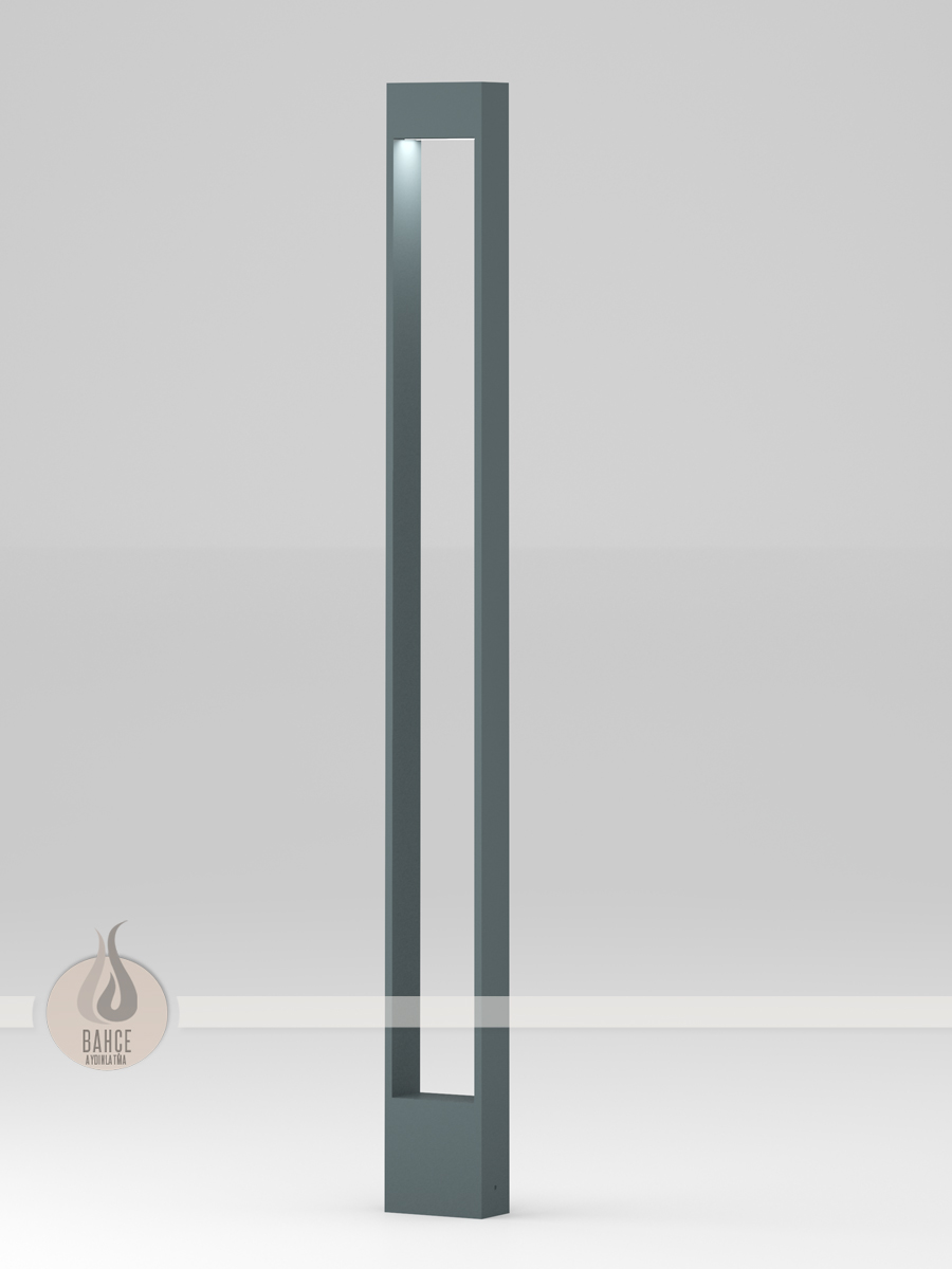 Rectangular Led Bollard - 200 cm - Led